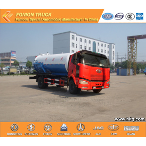 FAW Sewage suction tank truck good quality