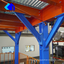 Customized and Flexible Storage Mezzanine Floor Storage Cube Rack