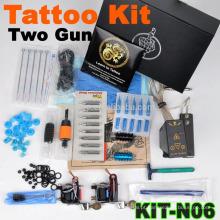 Novo quente venda profissional tatuagem máquina Kit com 2 armas