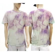 Over Printing Beautiful Modal T Shirt Full Color All Printing Custom Unisex Usa-europe-asia Size for Print T-shirt Custom