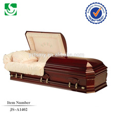 high quality hardwood casket from China