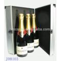 Оптовая высокого качества вина алюминиевую коробку для 3 бутылок из Китая завод