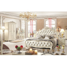 Beautiful Antique Bedroom Set em Estilo Europeu (HF-MG021)