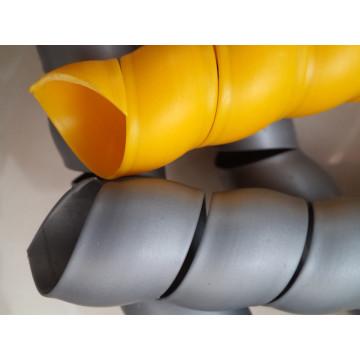 Protección de manguera de plástico de venta caliente colorida para manguera de aceite