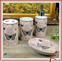Keramik-Schmetterling Badezimmer-Set