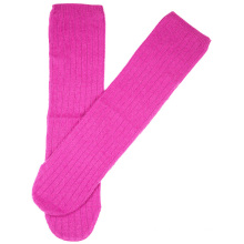 16PKSK01 winter warm multi solid colour cashmere sock