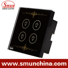 4 Gang Wall Switch, Tounch Switch, Remote Control Switch