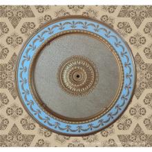 Custom Big Size Runde Dekoration Indoor Decken Panel Dl-1153