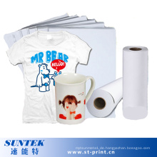 Wärmeübertragung Sublimationspapier mit hoher Qualität (STC-T01)