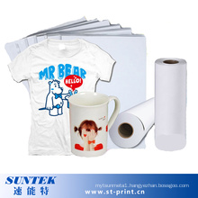 Heat Transfer Printing Sublimation Paper with High Quality (STC-T01)