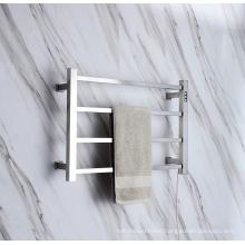Factory Direct Sale 304 Stainless Steel Bathroom Towel Rack Heated Towel Warmer 9023ST