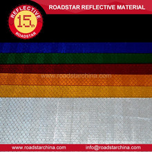 High tensile strength safety reflective sheeting