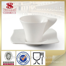 unique novelty design ceramic coffee cup sets for wholesale , white mugs
