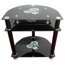 New Design Hot Selling Modern LCD Glass TV Stand