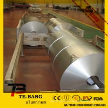 1235 8011 8079 ZZTB hoja de aluminio del precio de fábrica en rodillo grande para el paquete del alimento y el uso de la cocina