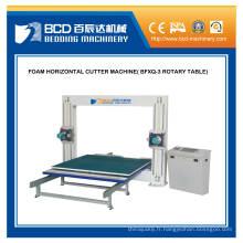 Machine de coupe horizontale de mousse (BFXQ-3 TABLE rotative)