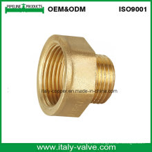 ISO9001 calidad certificada latón forjado 1/2 '' - 3/4 '' enchufe