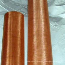 Acoplamiento de alambre de cobre amarillo de la malla 200 / acoplamiento de alambre de cobre 80 #