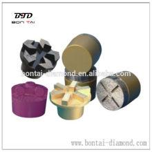 Conector de diamante con segmentos PCD o diamante