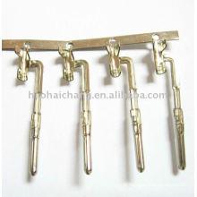 Terminais especiais do conector do grampo do fio bobinado de bronze do chapeamento de níquel