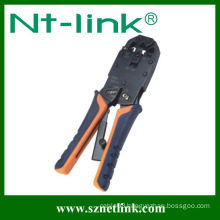 4P+6P+8P ratcheting crimp tool for insulated terminals