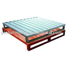 Sistema de almacenamiento paleta de acero