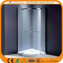 Минимум 6 см лоток роскошный крытый угловая душевая кабина (АДЛ-8030B)