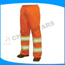 100%polyester reflective safety trousers