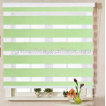 100% polyester double layer zebra blind