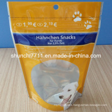 Resealable Stand up Dog Food Bag