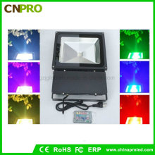 Outdoor Security 100W Waterproof RGB LED Floodlight