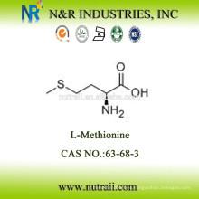 L-metionina en polvo