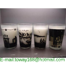 HOT !  SCENTED GLASS CANDLE / GLASS JAR CANDLES/CRAFT CANDLE