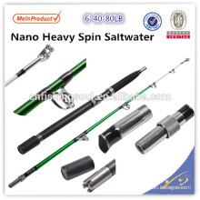BTR100 6' 40-80lb Heavy spin saltwater fishing rod