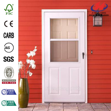 200 Series White Traditional Storm Door