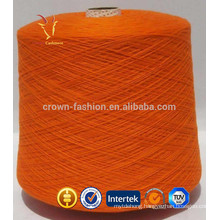 Mongolian worsted cashmere wool blend yarn for knitting