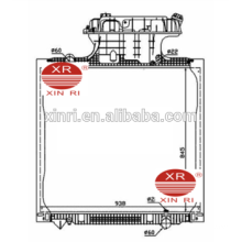Aluminum core radiator 845*938*48mm for MAN TG-A(02-) 1996