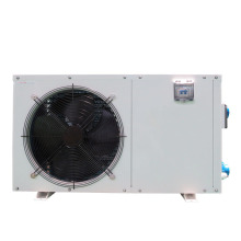 Metal Cabinet Swimming Pool Heat Pump Heater