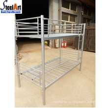 Metal double decker bed high quality korean style bed