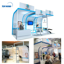 Detian Offer 10x20ft easy assemble aluminum booth design trade show stand