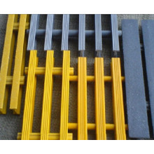 Reja de FRP / GRP, rejilla de fibra de vidrio, reja de Pultrusionado con alto antideslizante