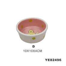 Cute Ceramic Pet Bowl (YE82496)