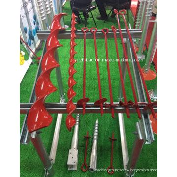 Steel Frame Garden Use Manual Earth Auger, Ground Anchor