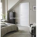 Puertas de interior de laca blanca de madera