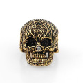 New design cheap indian skull finger ring