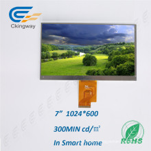 7 Inch Active Area 154.2X85.9mm TFT Display Module