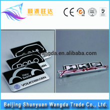Wholesale Fashionable cheap super quality various custom metal car emblem