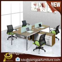 Special design four seater workstation with mobile drawer