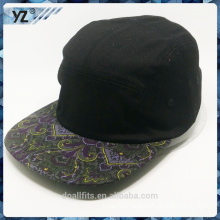 print visor customied logo cheap price skull cap made in china