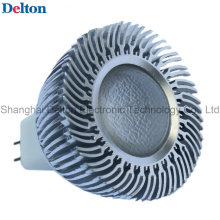 3W Dimmable plata blanca MR16 LED Spot Light (DT-SD-015A)
